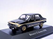 Renault 12 Alpine    1978  schwarz   /    IXO/Altaya   1:43
