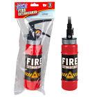 """Large 9.5"""" SQUIRT FIRE EXTINGUISHER - Water Gun Soaker Toy - Fun GaG Prank Joke"""