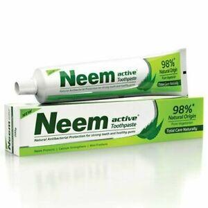 Neem Active 98% Naturale Origin Totale Cura Dentifricio 200 GM (Confezione 4)