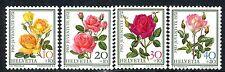 Switzerland 1972 - Suisse - Rose - Flowers - PRO JUVENTUTE - MNH Set