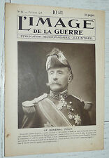 L'IMAGE DE LA GUERRE N°15 1915 FOCH LODZ TRANCHEES AUTRICHE SERBIE BELGIQUE