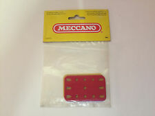 Vintage 1982 Meccano Spares 087273 194 Mixed Plastic Flexible Plates Pack of 6