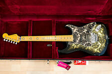 Ultra Rare !! Fender Richie Sambora Black Paisley Limited Edition Japan 1996 !!