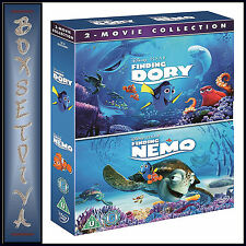 FINDING DORY AND FINDING NEMO - 2 FILM COLLECTION **BRAND NEW DVD BOXSET*