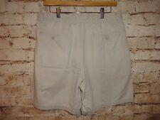 Cherokee Tan Beige Men's Casual Shorts Size 34 Cotton
