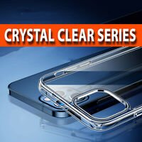 CRYSTAL Clear GEL Case iPhone 12 Mini ,12 Pro Max, 11 Silicone Ultra Thin Cover