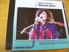 RENATO ZERO REALTA E FANTASIA...  CD MINT--- LINEATRE