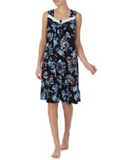 Secret Treasures Womens Plus Traditional Sleeveless Black Floral Gown Size 5X
