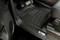 Front Row Floor Mats By Wade Black 2005 - 2011 Toyota Tacoma Access