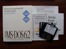 Microsoft MS - DOS 6.2 / Deutsche Version / Neuwertig