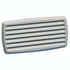 Grille d'aération ABS blanche - 201x101 mm