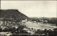 Cartagena Columbia La Popa Hill & Surroundings c1910 Real Photo Postcard