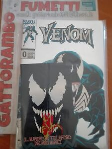 Venom N.0 zero Platinum con rubrica imbustato  - Marvel Comics ottimo++