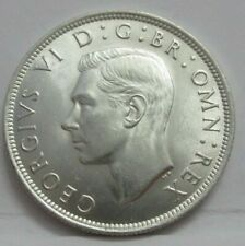 More details for 1945 george vi silver half crown spink ref 4080 unc quad cap boxed with coa a1