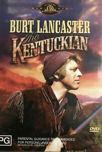The Kentuckian DVD REGION 4 AUST - Burt Lancaster Western Movie