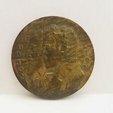 "1909 Hudson Fulton Celebration NEWBURGH Medal 2"" by Henry Kirk Bush"