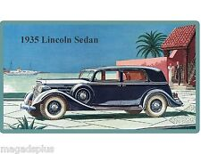 1935 Lincoln Auto Refrigerator / Tool Box  Magnet