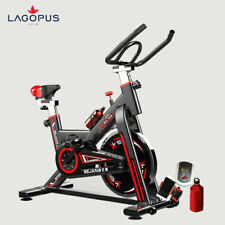 Workout Machine Gym Exercise Fitness Bike Trainer Home Stationary Black UK STOCK