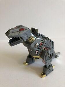 Grimlock Dinobot Vintage Transformers G1 Autobot Figure Toy 1984 (broken arm)