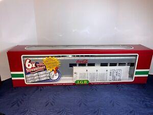 LGB Streamliner 30580 Coca-Cola Vista Dome Passenger Car