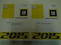 2015 GM Chevy CITY EXPRESS Service Shop Repair Workshop Manual Set NEW