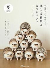 Wool Felt Cute Animals and Home Cafe Goods /Japanese Needle Craft Book Japan