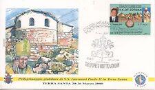 ENVELOPPE VISITE DU PAPE GIOVANNI PAOLO II / JORDAN /JORDANIE / 2000
