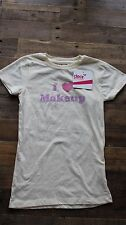 Dear by Amanda Bynes Cream T-Shirt - Size Small