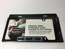 BMW Black License Plate Frame 82120010398