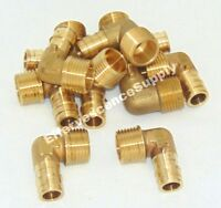 """Lead Free Brass 25 units 1//2/"""" ProPEX x 1//2/"""" FIP Drop Ear Elbow"""