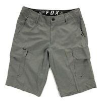 Fox Racing Mens 28 Gray Cargo Hybrid Street Surf Mountain Biking Shorts