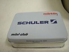 MÄRKLIN Spur Z Museumswagen 2001