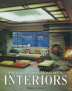 Frank Lloyd Wright -  Architectural Interior Designs / Illustrated Book