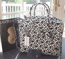 RALPH LAUREN COLLECTION GREEK KEY SOFT RICKY BAG NWT 2750.+