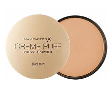 MAX FACTOR CREME PUFF PRESSED POWDER - 50 NATURAL  (3 PACK)