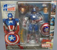 2018 Amazing Yamaguchi Revoltech Figure Complx Captain America No.007 with box