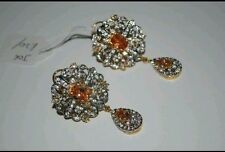 Gold Diamond Earrings Indian Jewellery