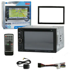 "Soundstream VRN-624B 6.2"" TV CD DVD GPS USB Navigation Bluetooth Car Strereo"