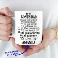 Bonus Dad Mug Step Dad Gift  Gift For Father's Day Mug