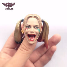 1/6 Suicide Squad Harley Quinn Head Sculpt For PHICEN Hot Toys Female Figure