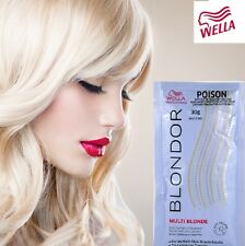 Wella Blondor Multi Blonde Dust Free Powder Bleach Sachet 30g