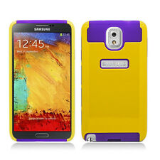 For Samsung Galaxy Note 3 NEST HYBRID HARD Case Rubber Phone Cover Accessory