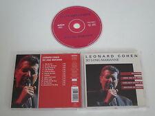 LEONARD COHEN/SO LONG, MARIANNE(ARLONE 460500 2) CD ÁLBUM
