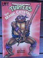 TEENAGE MUTANT NINJA TURTLES ~ THE MAGIC CRYSTAL ~ A Storybook Adventure 1990