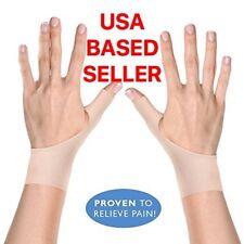 2 Premium Gel Wrist Support Braces for Right & Left Hand