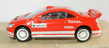 NOREV 3 INCHES 1/64 PEUGEOT 307 WRC N°5 300 CV 220 KM/H TOTAL CLARION