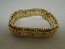 18ct Gold Ladies Bracelet 42g