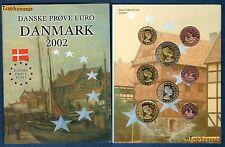 Médaille - Danmark 2002 Danemark Euro Collection Essai Prueba Trial Probe INA