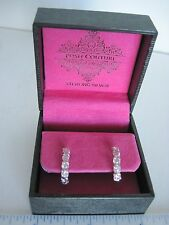 Sterling Silver Earrings pierced Posh Couture Pink post style Perfect Gift!  y9