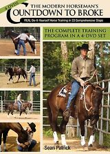 The Modern Horseman's Countdown to Broke 4-DVD Set by Sean Patrick - BRAND NEW